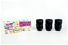 Did you get the shot?  Well this kind may make you dizzy.   http://photojojo.com/store/awesomeness/lens-shot-glass/mcpactions