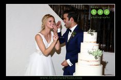 Love the pure joy and fun captured in this photo of the Bride and Groom! What's better than eating cake with your best friend at your own wedding? Venue: @villaantonia Photographer: @hydeparkphoto See more at http://www.hydeparkphoto.com/?s=maggie ||| Austin weddings, Austin wedding photographers, Texas wedding photographers, Austin wedding venues, Austin wedding venues outdoors, Villa Antonia, wedding blog, wedding ideas, wedding cake, succulent wedding cake, naked wedding cake, Theia…