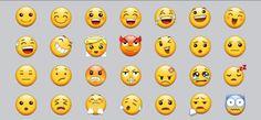 Samsung emojis first four lines