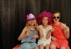 Samantha, Charlotte and Clementine at DIO Gala Dinner