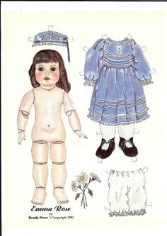 More dolls from American Paper 2 - Ulla Dahlstedt - Álbumes web de Picasa
