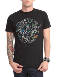 http://custard-pie.com/ Led Zeppelin III T-Shirt