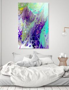 Discover «purple cells», Exclusive Edition Aluminum Print by Annemarie Ridderhof - From 69€ - Curioos