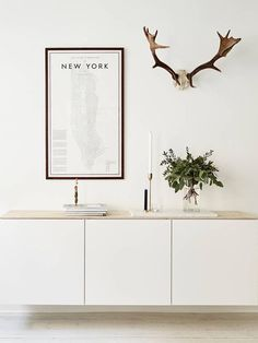 Ikea Besta Regal skandinavisch und minimalistisch deko ideen