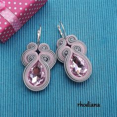 Earrings are handmade, with real love and passion. Earrings have got length is about inch. This is a nice addition to the outfit, I recommend :) If you want to see more of my earrings, then please visit: Belly Dance Belt, Soutache Necklace, Business Inspiration, Diy Accessories, Diy Earrings, Bridal Jewelry, Decoration, Belly Button Rings, Jewelery