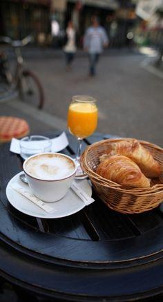 Summer Breakfast In Sweden