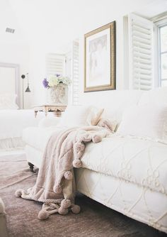 Pin for Later: How to Add Personality to a Neutral Home  Fresh flowers add life and color to any room. Photo by Tessa Neustadt. via Homepolish