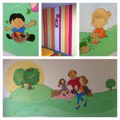 Projeto de ilustração infantil Pintura mural