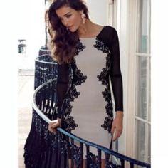 michelle keegan lipsy dress size s nude black party evening wedding bodycon midi