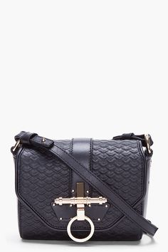 BLACK OBSEDIA BAG / Givenchy