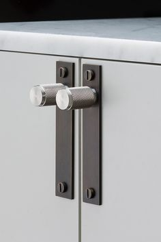 FURNITURE HANDLES / SMOKED BRONZE / STEEL by Buster + Punch