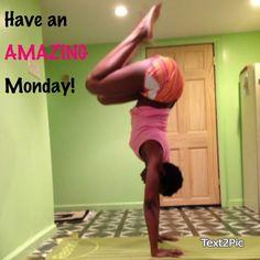 Join the fun on Instagram. #handstandmadness. #inversion #blackwomendoworkout #fitgirls_inspire