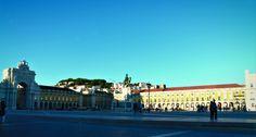 Plaza del comercio #lisbon #travel #plaza