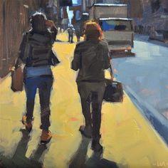"Daily+Paintworks+-+""No+Place+Like+Home""+-+Original+Fine+Art+for+Sale+-+©+Carol+Marine"