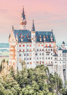 Neuschwanstein Castle. One of the best castles in Germany to add to your Europe bucket list. Explore 15 of the Best Fairytale Places From All Over the World on www.avenlylanetravel.om #wanderlust #france #traveltips #europe #bucketlist #travel #villages #travelmore #traveling #roadtrip #avenlylane