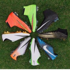 Pinwheel of cleats. Life