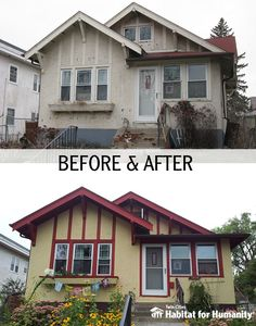 A great Before & After shot of an ABWK project in South Minneapolis!