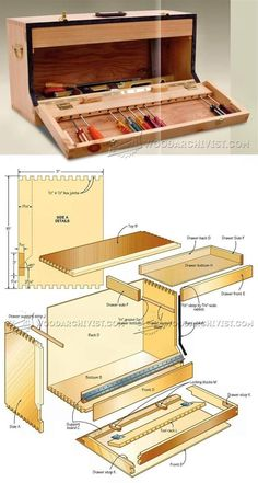 Carpenter's Toolbox Plans - Workshop Solutions Projects, Tips and Tricks | WoodArchivist.com