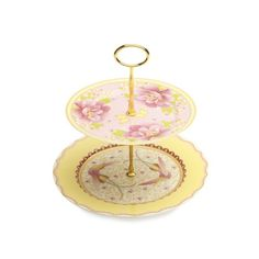 Maxwell & Williams Cashmere Enchante 2 Tier Cake Stand Gabrielle-Antoinette Gift Boxed | Stands, Plates & Cooling Racks - House