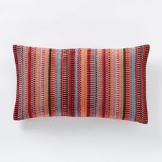 "Margo Selby Mini Blocks Pillow Cover, 12"" x 20"" - $29 (less 20% is $23.20)"