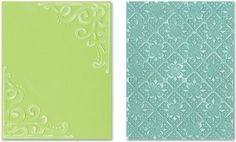 Sizzix Textured Impressions Embossing Folders 2PK - Corners & Lattice Set by Rachael Bright Sizzix http://www.amazon.com/dp/B004OT0ZVM/ref=cm_sw_r_pi_dp_DhyFvb05BKZRR