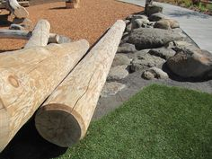 log play structures