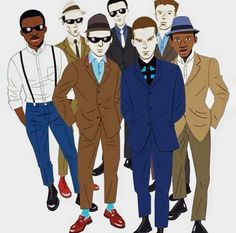 For The Modernist. A movement to celebrate the clothes,music style and culture of being the best you can be. Billy Bragg, Skinhead Reggae, Ska Music, Skinhead Fashion, Elvis Costello, Rude Boy, Northern Soul, Punk, Music People