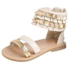 Resultado de imagen para ruffle sandals