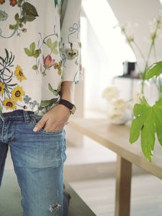 light spring floral style:  With Grace & Guts