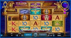 On 22nd October 2015, NetEnt launched their new and highly anticipated video slot titled Pyramid: Quest for Immortality. The game has a whopping 720 ways to win and a pyramid-shaped reel-set that features the iconic Avalanche re-spins. Thanks to them you can win up to 3,600,000 coins! Read more at http://blog.casinocashjourney.com/2015/10/25/netent-pyramid-quest-immortality-slots/