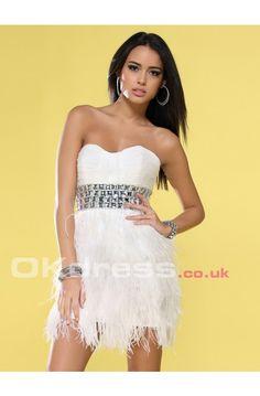 Short/Mini Zipper A-Line Chiffon Cocktail Formal Dresses