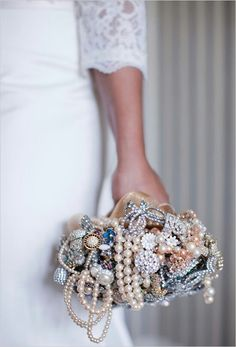 Pearls bouquet