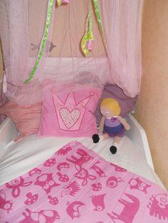 letto con baldacchino per bambina