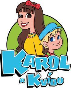 grafická práce, kresba, logo Karol a Kvído od KiKi ArtWorks  Kristýna Hrdličková, zpěvačka Karolina Gudasová
