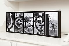 Create your own custom work of art with our one of a kind gallery blocks!