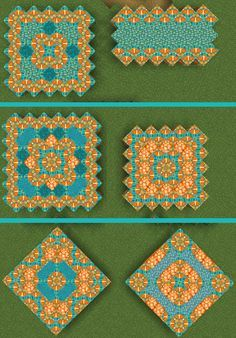 Today as requested I did some new designs using orange glazed terracotta :D - Minecraft Minecraft Floor Designs, Minecraft Blocks, Mine Minecraft, Minecraft Funny, Minecraft Tips, Minecraft Creations, Minecraft Party, Minecraft Houses, Minecraft Stuff