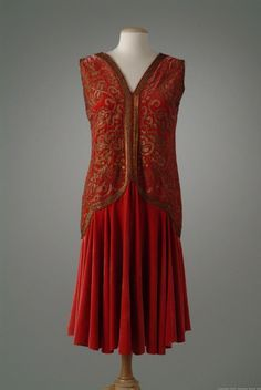 OMG that dress! — Dress 1927 The Meadow Brook Hall Historic...