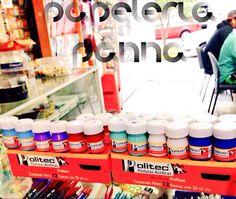 @papeleriapanna: Mas colores, mas formas de hacer tus creaciones, trabajos, dibujos. #FelizLunes @En_laDelValle #politec