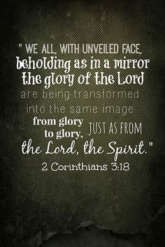 2 Corinthians 3:18 printable -- Mrs. 2 Blog