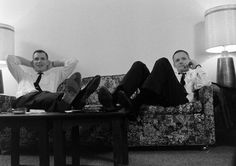 Dave Scott and Neil Armstrong - LIFE magazine