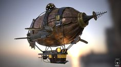 SteamPunk Airship, Adrian Alanis on ArtStation at https://www.artstation.com/artwork/steampunk-airship-47262287-93e8-44f7-9376-dd9935d1c9ea
