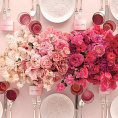 25 stylish ways to incorporate OMBRE into your wedding day