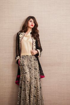 Zainab Chottani Latest Eid Pret Exhibition 2014