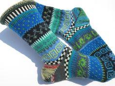 Socken - Socken Gr. 41/42 - ein Designerstück von Lotta_888 bei DaWanda