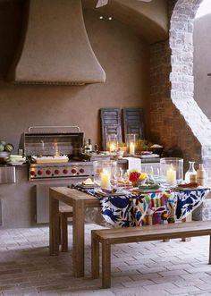 Outdoor Kitchen...amazing #outdoor kitchen