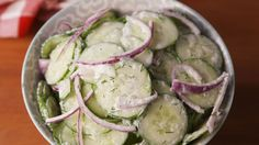 Easy Cucumber Salad  - Delish.com