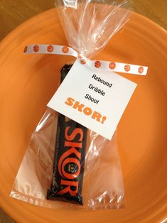 Basketball Banquet party favor. Rebound dribble shoot skor! #basketball #basketball #ideas