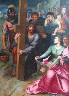 La rencontre du christ et de Véronique – Otto Vaenius