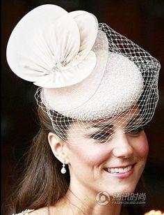 Kate Middleton fashion hats