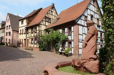 Lohr am Main, Germany - I was born in this street; I lived there for most of my life.